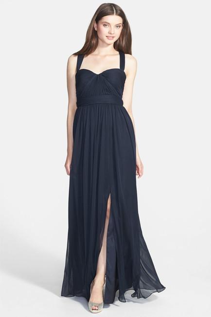 Mariage - ML Monique Lhuillier Bridesmaids Jersey Chiffon Gown