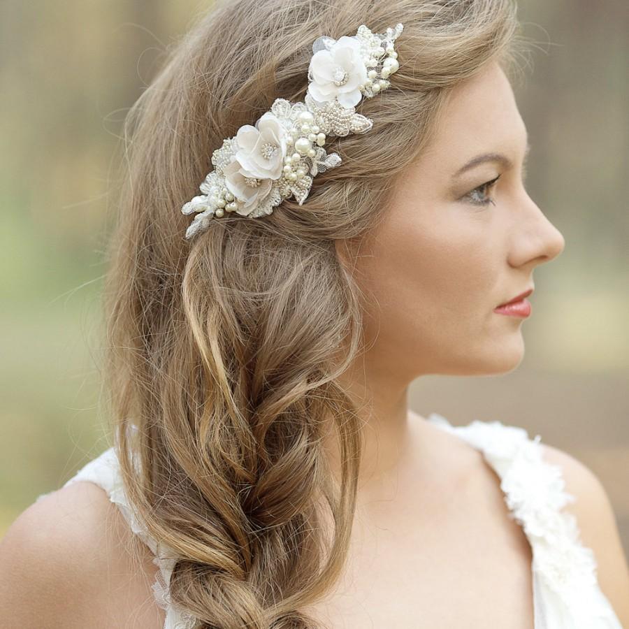 hair pieces for wedding wedding hair pieces Bridal hair comb Bridal comb Pearl hair comb Wedding Hair piece Bridal headpiece Bridal hair accessories Wedding Hair jewelry Wedding comb