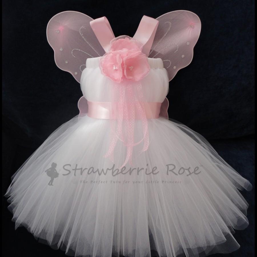 Свадьба - Light Pink Flower Girl Dress