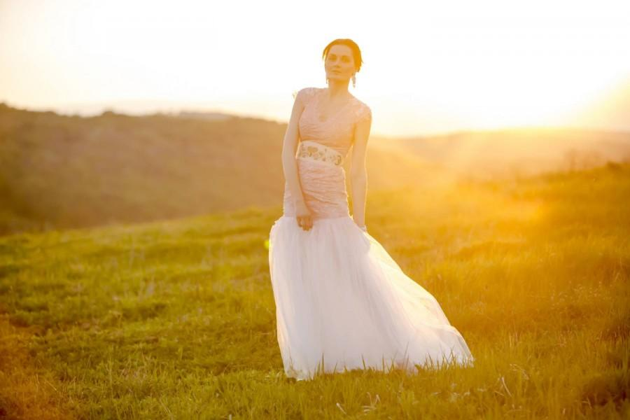 Mariage - Pink tulle dress