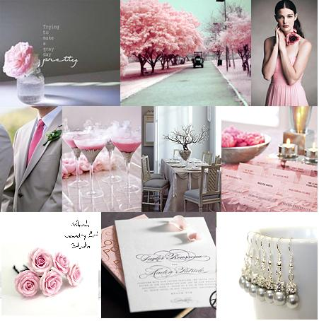 Свадьба - Grey Wedding Color Inspiration Each Bride has ...