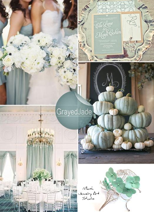 Shades Of Green Wedding Color Ideas And Wedding 2458807