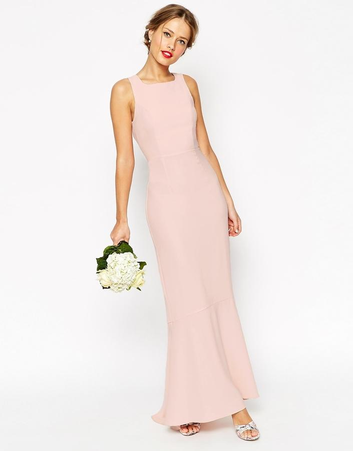 Mariage - ASOS WEDDING Maxi Dress With Fishtail Hem