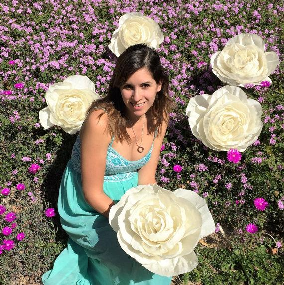 5 giant crepe paper flowers large 11 inch paper roses oversize 5 giant crepe paper flowers large 11 inch paper roses oversize paper flowers giant crepe paper flowers in your choice of colors mightylinksfo