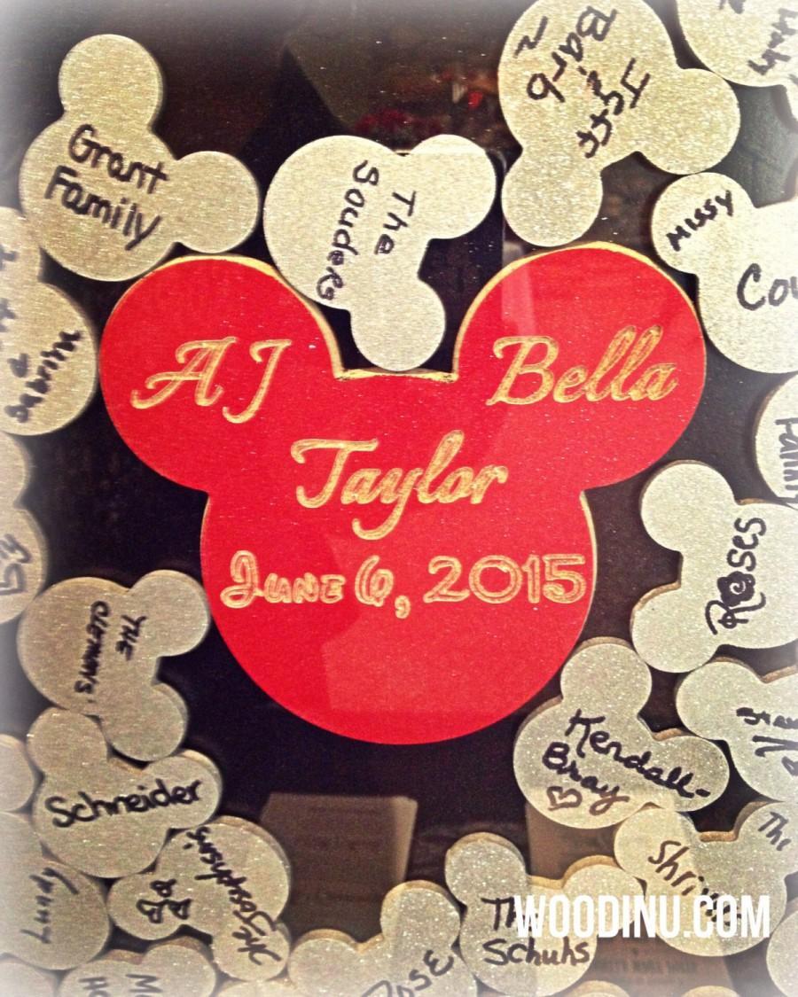 Disney Guestbook Disney Wedding Disney Wedding Signs Wedding