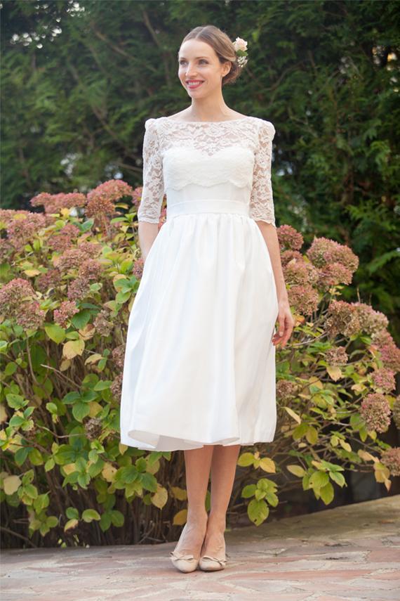 15ca14bbb5 Bridal Lace Top/ Bridal Bolero/ Wedding Top/ Bridal Separates/ Ivory bridal  cover up/ Wedding lace jacket/ Robe de mariée Alesandra Paris