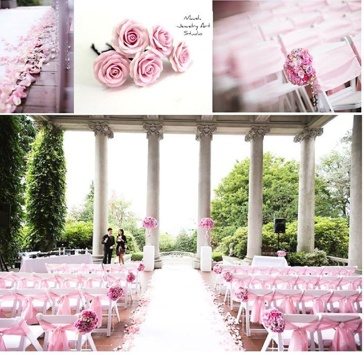 Wedding - Styled in Pink at the Hycroft in Vancouver By ...