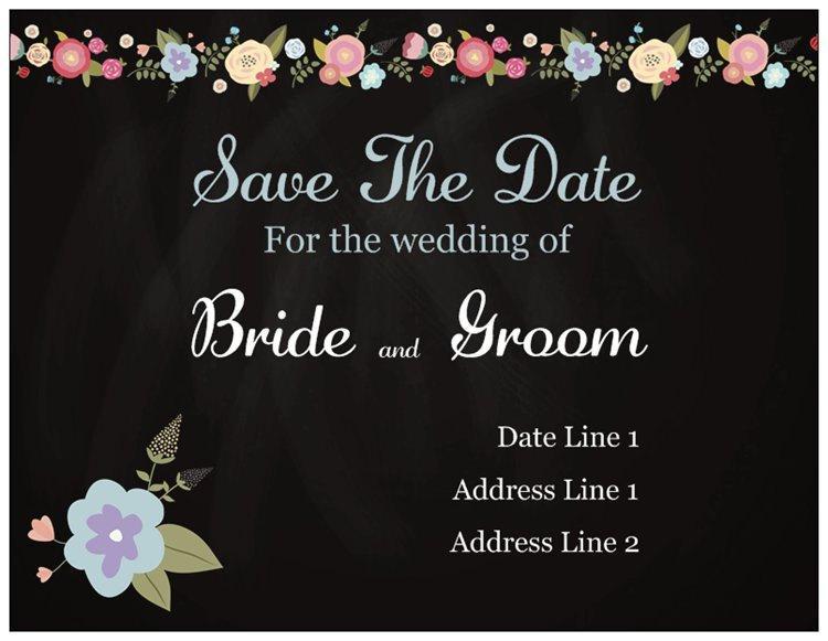 Wedding - 50 Wedding Save the Date Magnet