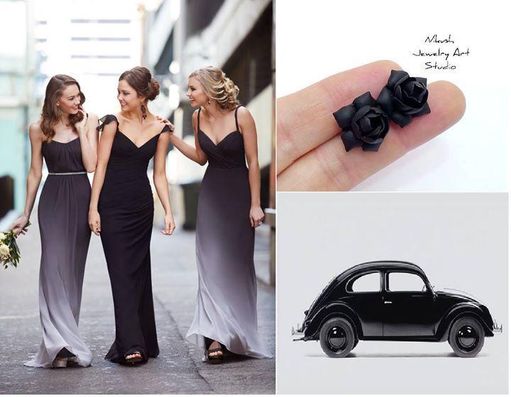 زفاف - Hot off the Runway: Ombre Bridesmaid Dresses by
