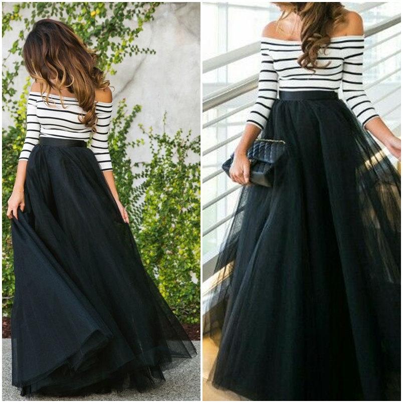 Full Length Tulle Dress