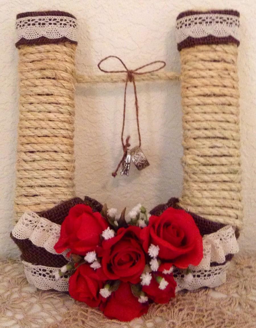 Свадьба - Ring Bearer...Alternative...HORSESHOE...Country Chic...Barn Wedding...Woodland