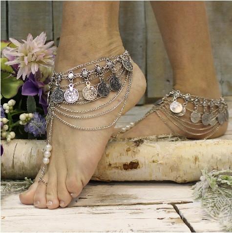 Свадьба - Casablanca barefoot sandals