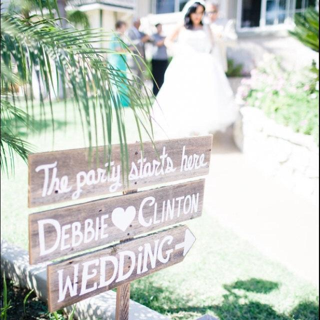 Large Wedding Sign Welcome With Names And Arrow Church Yard Entrance Rustic Reception Signage Country