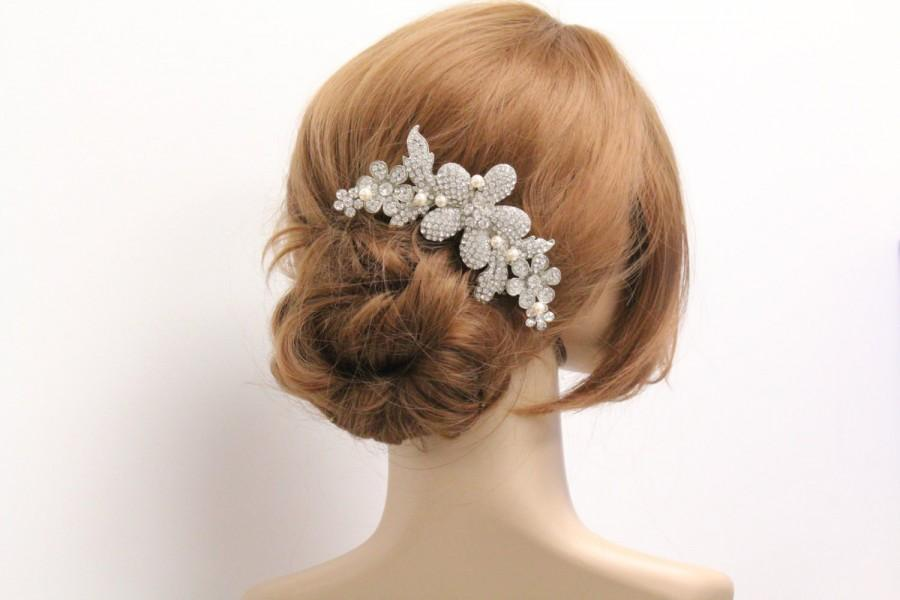 Свадьба - Bridal hairpiece wedding hair comb bridal hair accessory wedding headpiece bridal hair comb wedding jewelry bridal accessory wedding comb