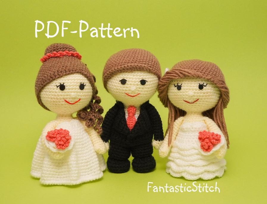 Porta alianzas de amigurumi | Hearts, roses, Crochet hats, Amigurumi | 685x897