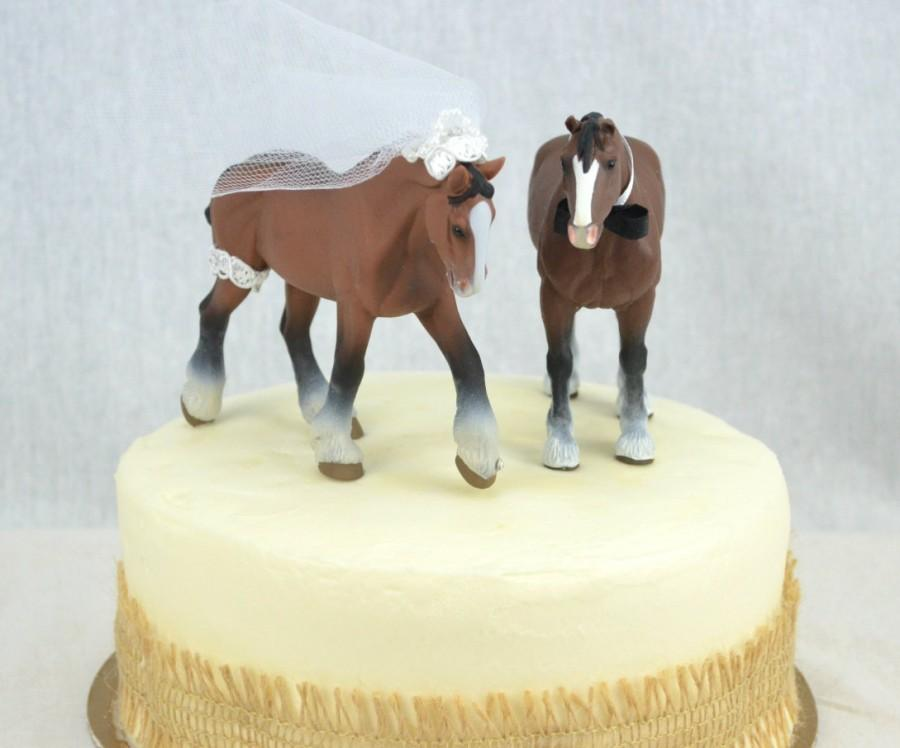 Horse Wedding Cake Topper Western Wedding Cake Topper Country ...