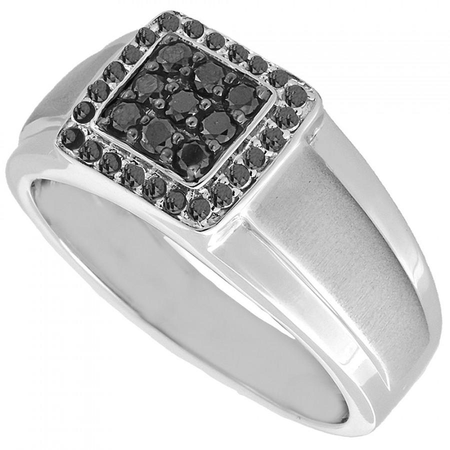 media mm black engagement diamond rings mens wedding ring