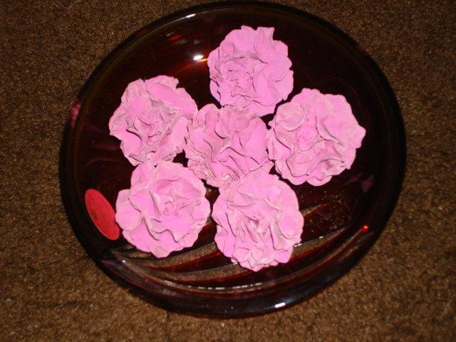 Свадьба - Edible Gumpaste Carnations / Double Petal Hollyhocks for Wedding Cakes and Cupcakes