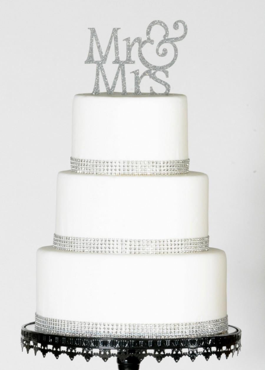 Mr And Mrs Wedding Cake Topper Mr & Mrs Cake Topper Mr And Mrs ...