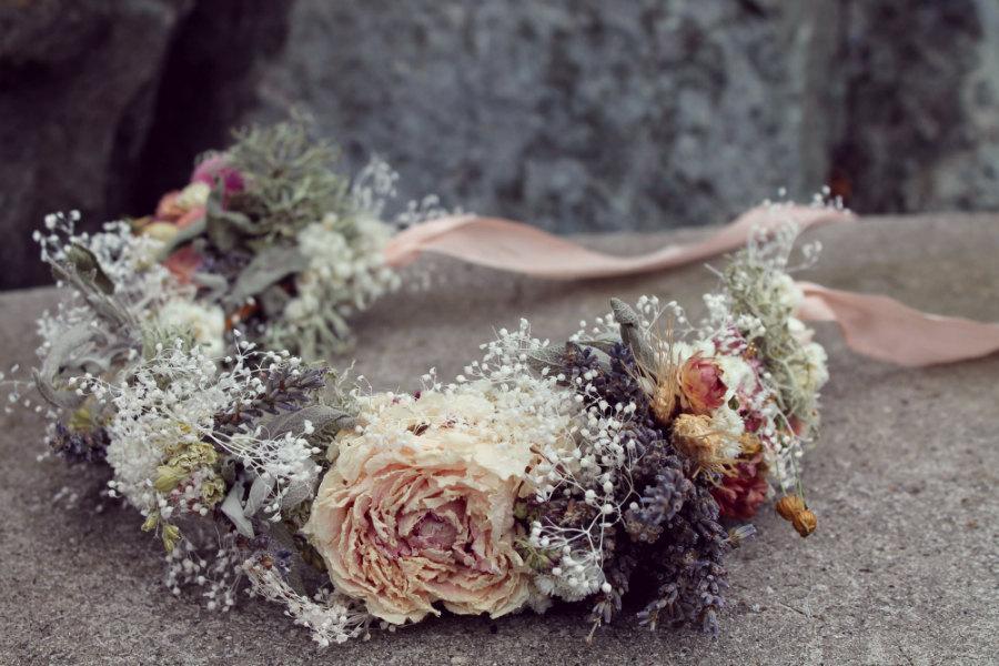 زفاف - custom bridal crown, wheat bridal crown, blush bridal crown, neutral bridal crown, autumn bridal crown, lavender bridal crown, dried flower