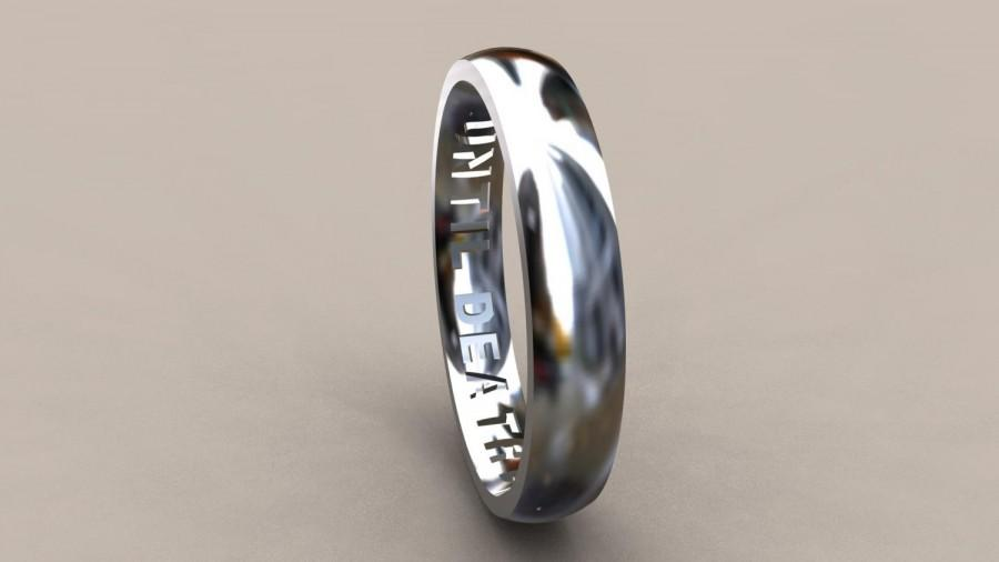 mens color rings tungsten black line ring gold jewelry product men thin for wedding beichong carbide