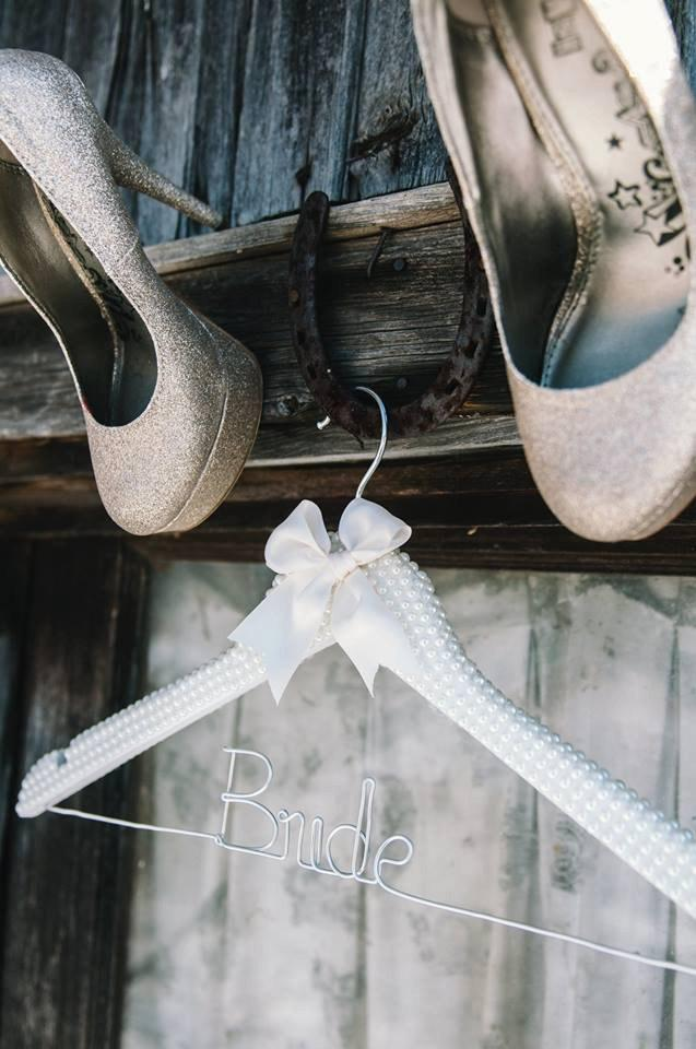 Pearl Bridal Wedding Gown Hanger Pearl Hanger Bride