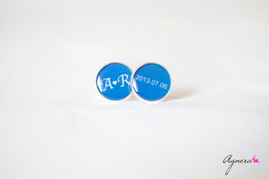 زفاف - Groom cufflinks for weddings - Personalized cufflinks - Wedding cufflinks - Groom wedding accessory - Themed wedding gift for groom