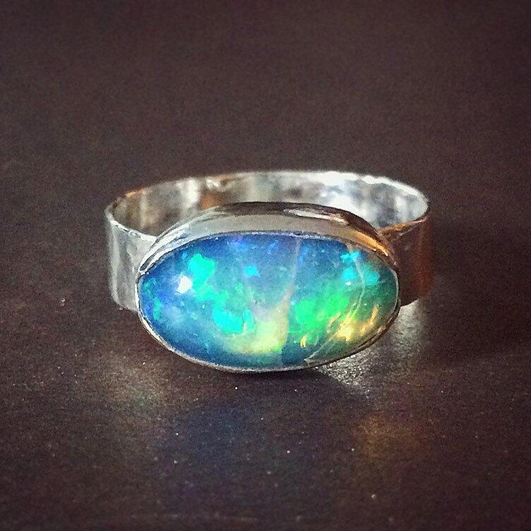 Mariage - SuperNova Opal Ring