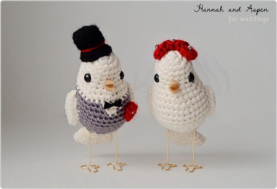 Fisher Love Bird pattern by Chiwaluv Amigurumi Critters | Crochet ... | 615x900