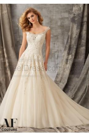 Hochzeit - Mori Lee Bridal Gown 1351