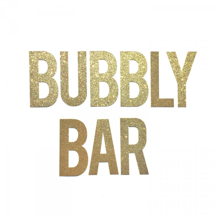 bubbly bar sign banner bridal shower banner decor party decoration engagement party