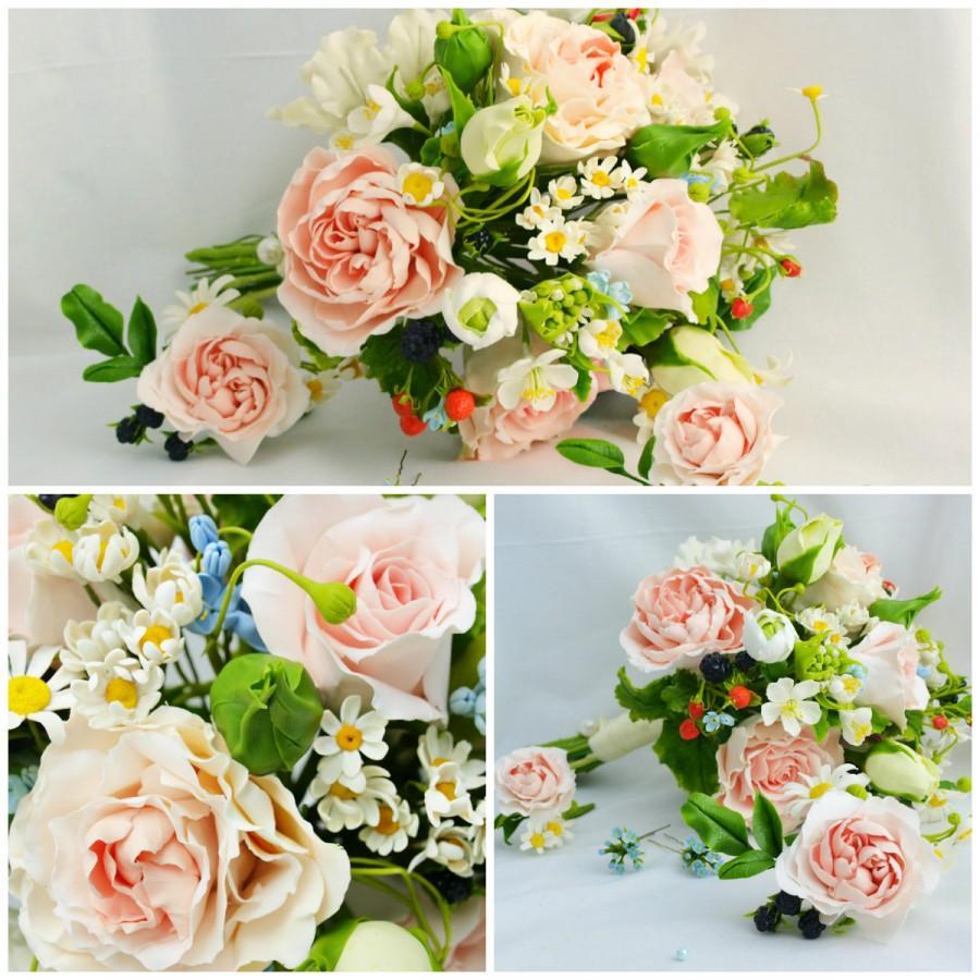 """Свадьба - Bridal Bouquet Charm - """"Aphrodite"""", Wedding Flowers, supplies, keepsake bouquet, wedding bouqet charm, Bouquets"""