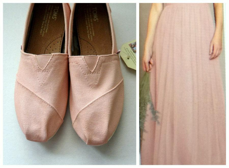 Custom Color TOMS Bridal Wedding Shoes Tinted Bridesmaid Prom Anniversary Mother Of The Bride