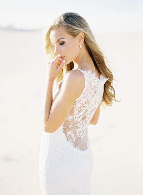 Mariage - Glamorous Desert Bridal Session