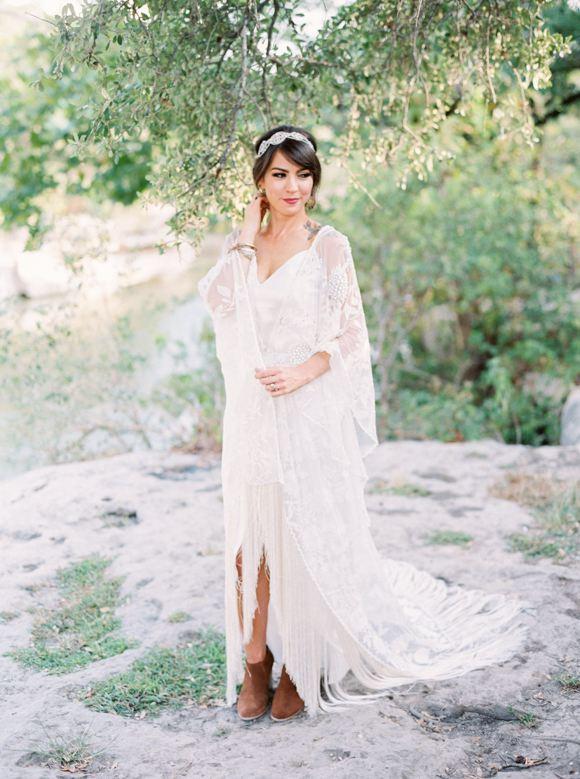 c2d4b1ecea5ec Edgy Free-Spirited Bridal Style #2463029 - Weddbook