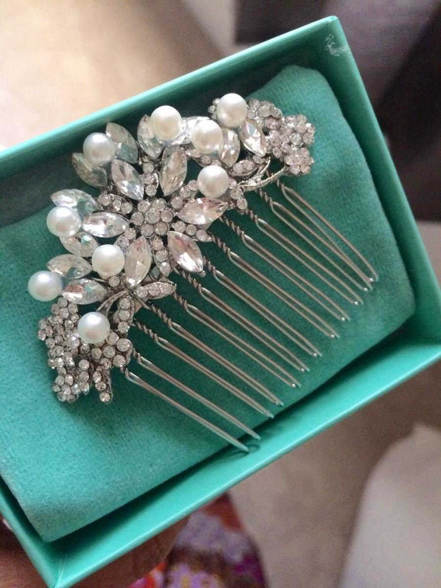 35336ea55ec Wedding Hair Clips And Rhinestone Combs For Brides - Ladiestylelife ...
