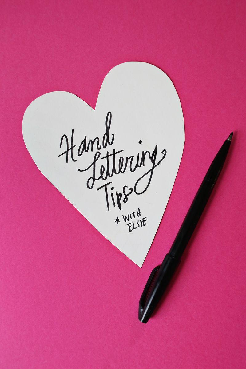 Wedding - Hand Lettering Tips with Elsie