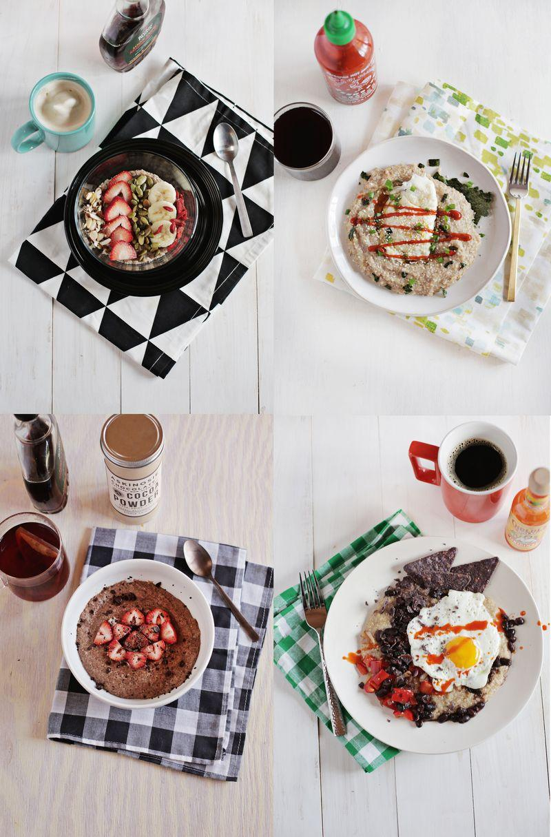 Wedding - Hot Cereal 5 Ways (Fast, Easy, Healthy!)