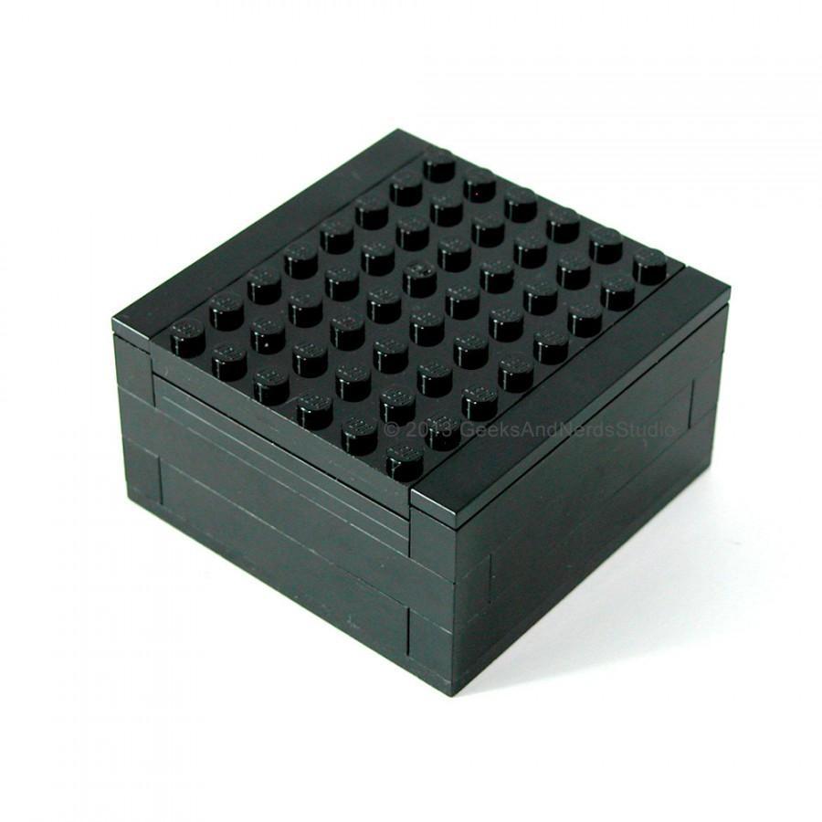Mariage - Large LEGO Gift Box to hold Cufflinks - Cufflink Box - Groomsmen Gift - Gift for HIm - Best Man Gift - Star Wars Cufflinks - Geek Wedding
