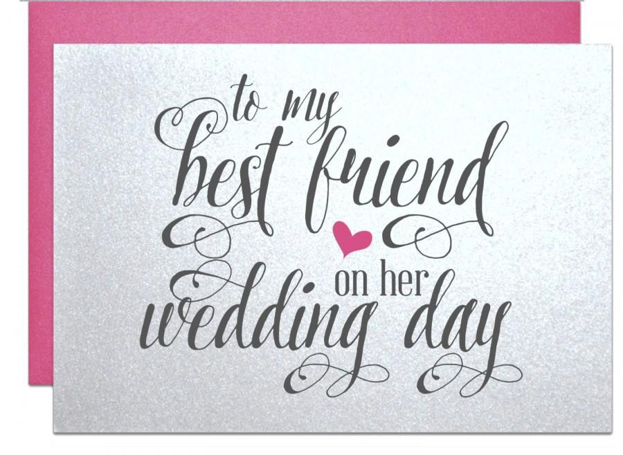 Wedding Gift Ideas For Bride From Friends : Wedding gift card for best friend wedding bridal shower gift cards for ...