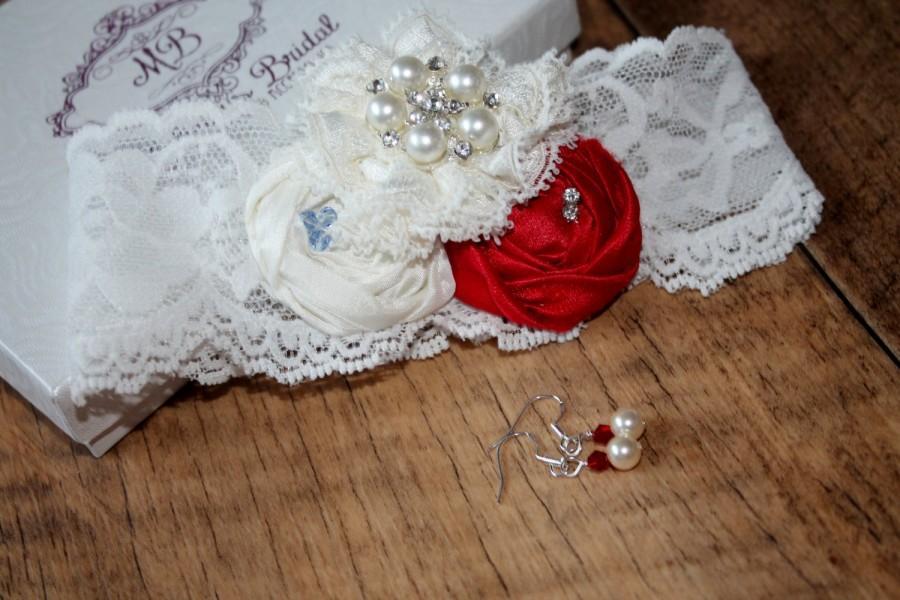 Wedding - Bridal Garter - Garter - Wedding Garter - Garter UK - Bridal Garter Set - NEW Luxury EmilyMay Garter (including toss garter) - Garter Set UK