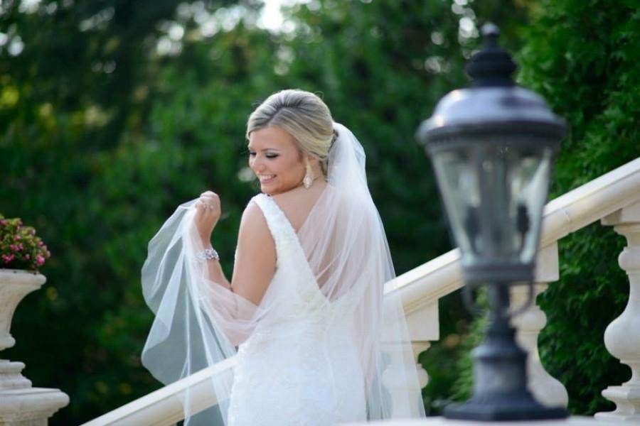 زفاف - Sheer Soft Wedding Veil