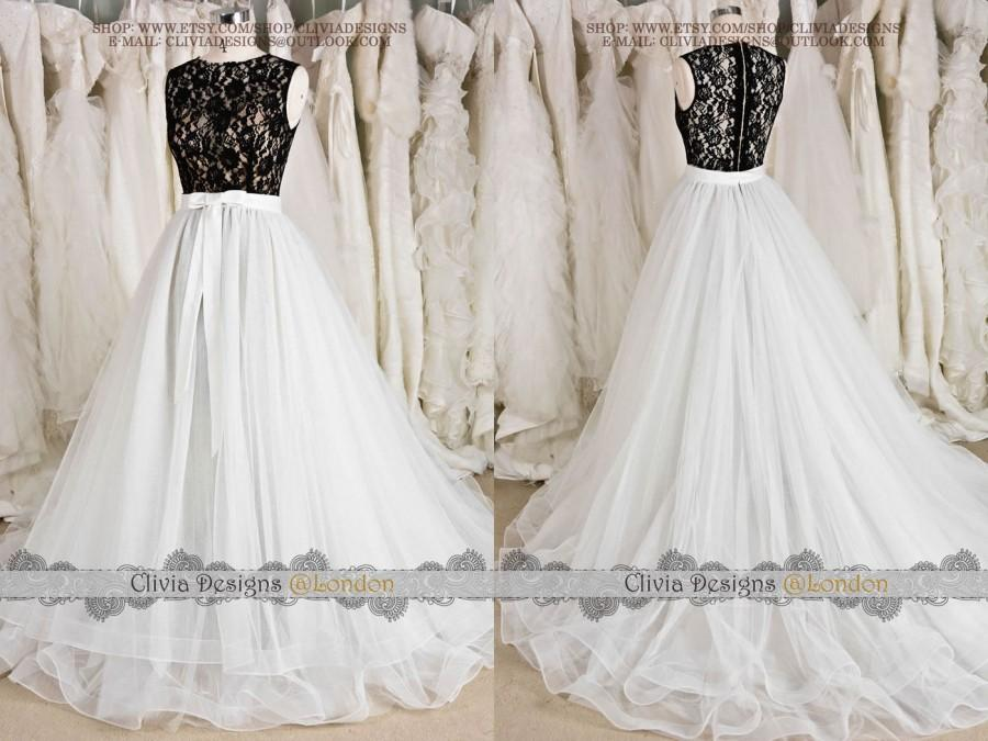 Are not black and white lace wedding dresses phrase