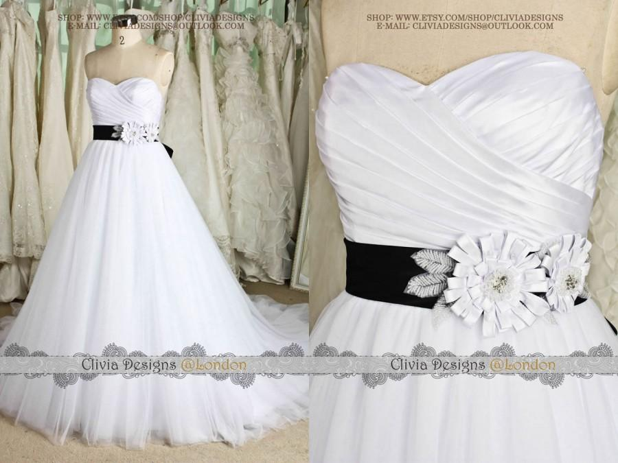 Fairytale Strapless Sweetheart Drapled Bodice Tulle Ball Gown ...