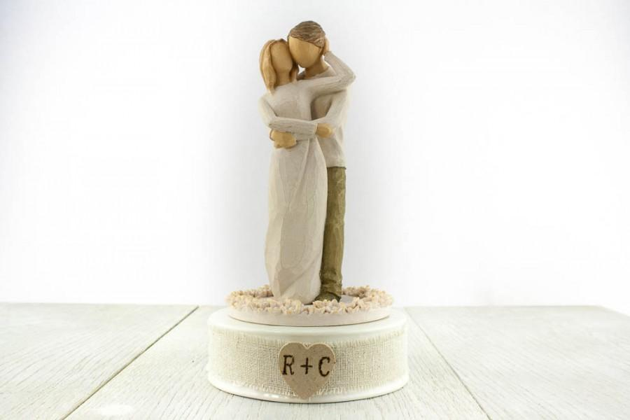 """Hochzeit - Personalized Willow Tree ® """"Together"""" Wedding Cake Topper - 1027162"""