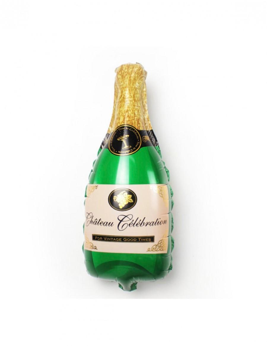 "Свадьба - Champagne Bottle Balloon Large 36"" Mylar Engagement Party Bridal Shower Decor Bachelorette Party Decor Birthday Celebration Anniversary"