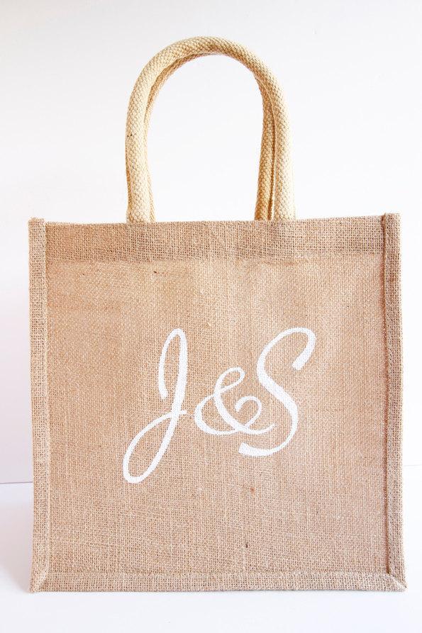 Large personalised gift bag