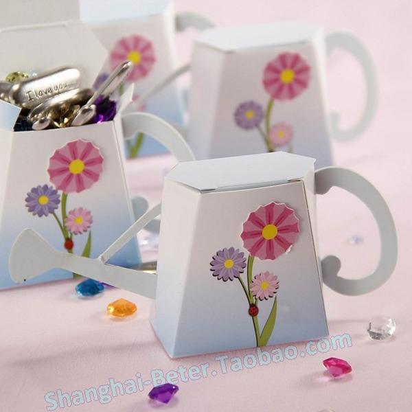 Wedding - 12pcs创意小水桶喜糖盒TH010欧式爆款生日庆生满月酒诞生礼糖果盒