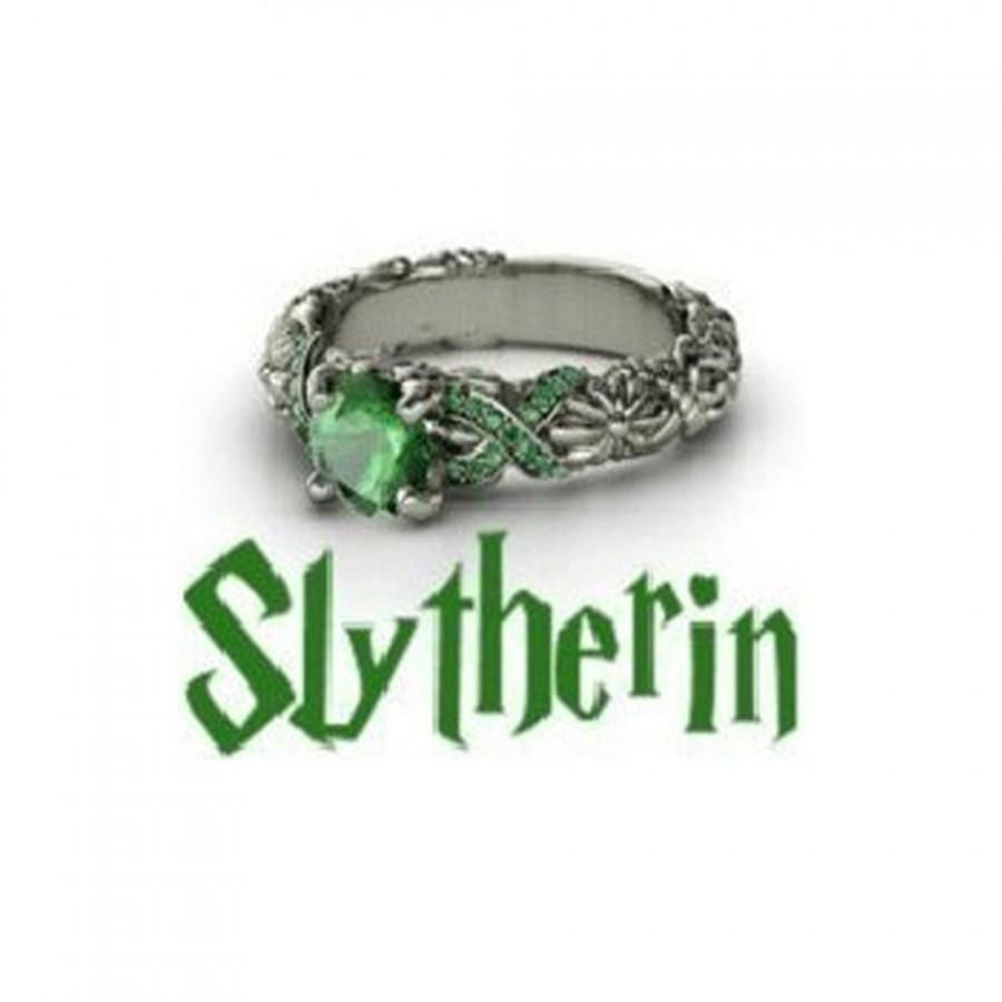 Slytherin Harry Potter House/School Ring! Slytherin/Gryffindor/Ravenclaw U0026  Hufflepuff!