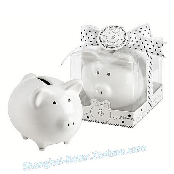 Wedding - 天猫小猪 陶瓷存钱罐 储蓄罐 创意礼品 可爱开学派对礼品TC018